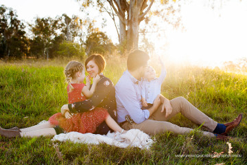 Family Session with Evie+Harvey